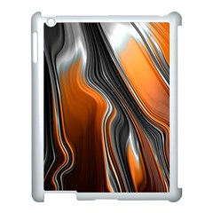 Fractal Structure Mathematic Apple Ipad 3/4 Case (white)
