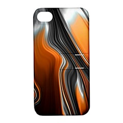 Fractal Structure Mathematic Apple Iphone 4/4s Hardshell Case With Stand
