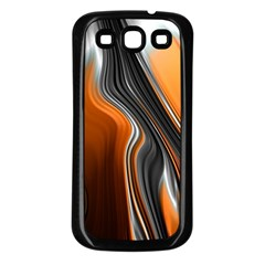 Fractal Structure Mathematic Samsung Galaxy S3 Back Case (black)