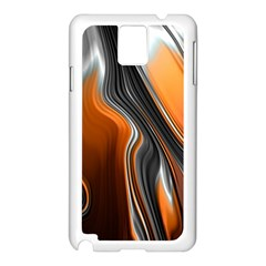 Fractal Structure Mathematic Samsung Galaxy Note 3 N9005 Case (white)