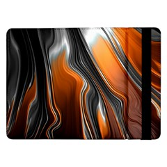 Fractal Structure Mathematic Samsung Galaxy Tab Pro 12 2  Flip Case