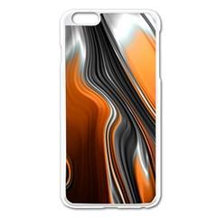 Fractal Structure Mathematic Apple Iphone 6 Plus/6s Plus Enamel White Case