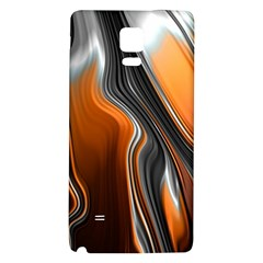 Fractal Structure Mathematic Galaxy Note 4 Back Case
