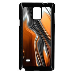 Fractal Structure Mathematic Samsung Galaxy Note 4 Case (black)