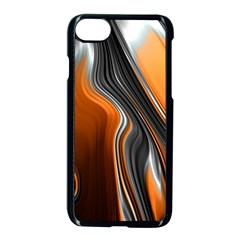 Fractal Structure Mathematic Apple Iphone 7 Seamless Case (black)