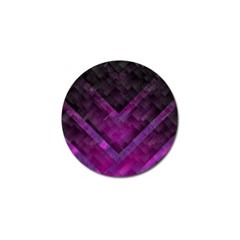 Purple Background Wallpaper Motif Design Golf Ball Marker (4 Pack)