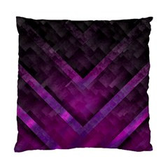 Purple Background Wallpaper Motif Design Standard Cushion Case (two Sides)