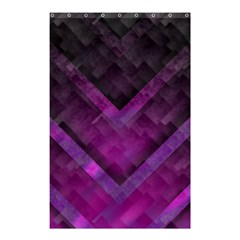 Purple Background Wallpaper Motif Design Shower Curtain 48  X 72  (small)
