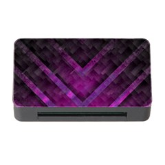 Purple Background Wallpaper Motif Design Memory Card Reader With Cf