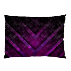 Purple Background Wallpaper Motif Design Pillow Case (two Sides)