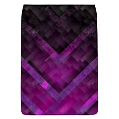 Purple Background Wallpaper Motif Design Flap Covers (l)