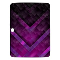 Purple Background Wallpaper Motif Design Samsung Galaxy Tab 3 (10 1 ) P5200 Hardshell Case