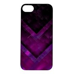 Purple Background Wallpaper Motif Design Apple Iphone 5s/ Se Hardshell Case