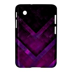 Purple Background Wallpaper Motif Design Samsung Galaxy Tab 2 (7 ) P3100 Hardshell Case