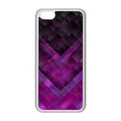 Purple Background Wallpaper Motif Design Apple Iphone 5c Seamless Case (white)