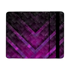 Purple Background Wallpaper Motif Design Samsung Galaxy Tab Pro 8 4  Flip Case