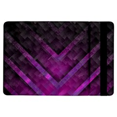 Purple Background Wallpaper Motif Design Ipad Air Flip