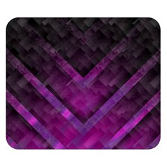 Purple Background Wallpaper Motif Design Double Sided Flano Blanket (small)