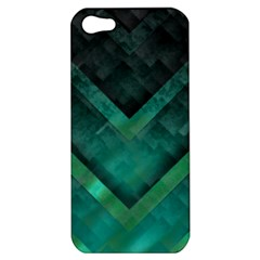 Green Background Wallpaper Motif Design Apple Iphone 5 Hardshell Case