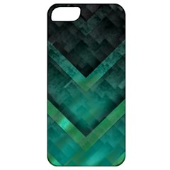 Green Background Wallpaper Motif Design Apple Iphone 5 Classic Hardshell Case