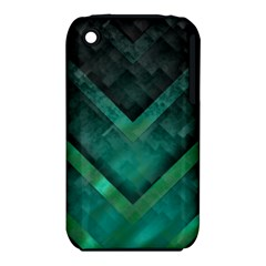 Green Background Wallpaper Motif Design Iphone 3s/3gs