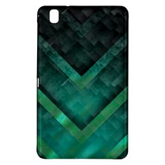 Green Background Wallpaper Motif Design Samsung Galaxy Tab Pro 8 4 Hardshell Case