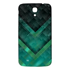 Green Background Wallpaper Motif Design Samsung Galaxy Mega I9200 Hardshell Back Case