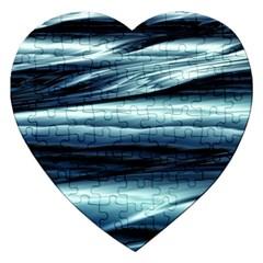 Texture Fractal Frax Hd Mathematics Jigsaw Puzzle (Heart)