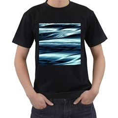 Texture Fractal Frax Hd Mathematics Men s T Shirt (black)
