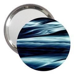 Texture Fractal Frax Hd Mathematics 3  Handbag Mirrors
