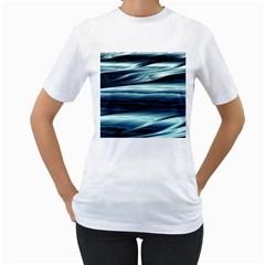 Texture Fractal Frax Hd Mathematics Women s T Shirt (white)