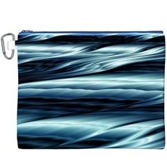 Texture Fractal Frax Hd Mathematics Canvas Cosmetic Bag (xxxl)