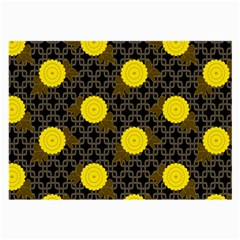 Sunflower Yellow Large Glasses Cloth