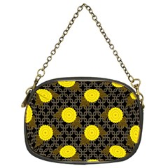 Sunflower Yellow Chain Purses (one Side)