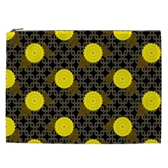 Sunflower Yellow Cosmetic Bag (xxl)