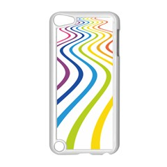 Wave Rainbow Apple Ipod Touch 5 Case (white)