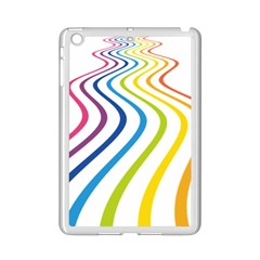 Wave Rainbow iPad Mini 2 Enamel Coated Cases