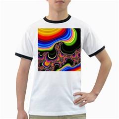 Wave Color Ringer T-Shirts