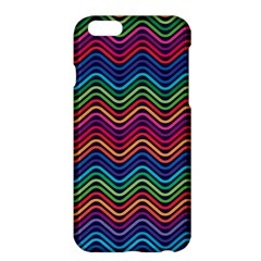 Wave Chevron Rainbow Color Apple iPhone 6 Plus/6S Plus Hardshell Case