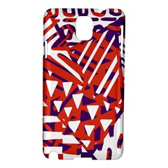Bright  Memphis Purple Triangle Samsung Galaxy Note 3 N9005 Hardshell Case