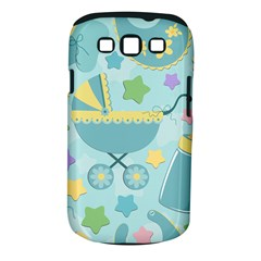 Baby Stroller Star Blue Samsung Galaxy S III Classic Hardshell Case (PC+Silicone)