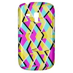 Bright Zig Zag Scribble Yellow Pink Galaxy S3 Mini