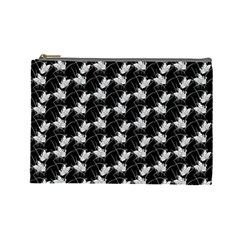 Butterfly Black Cosmetic Bag (large)