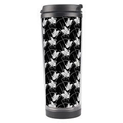 Butterfly Black Travel Tumbler