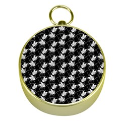 Butterfly Black Gold Compasses