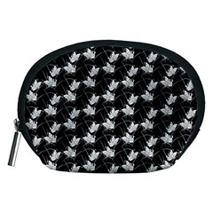 Butterfly Black Accessory Pouches (medium)