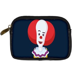 Clown Face Red Yellow Feat Mask Kids Digital Camera Cases