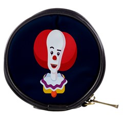 Clown Face Red Yellow Feat Mask Kids Mini Makeup Bags