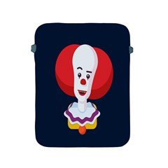 Clown Face Red Yellow Feat Mask Kids Apple iPad 2/3/4 Protective Soft Cases