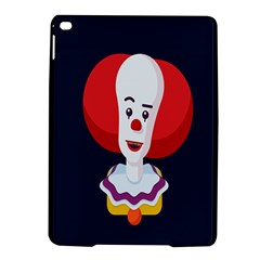 Clown Face Red Yellow Feat Mask Kids iPad Air 2 Hardshell Cases